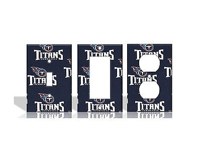 Tennessee Titans #2 Blue Light Switch Covers Football NFL Ho