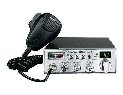 (BRAND NEW COBRA 25 LTD CLASSIC CB RADIO PRO TUNED,MOFSET,SWING KIT)