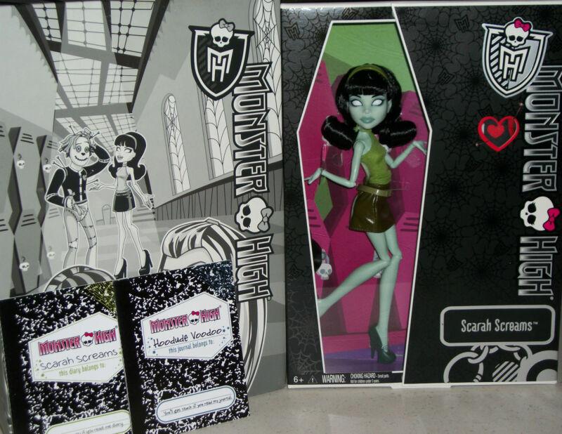 Monster High Scarah Screams Hoodude Voodoo Doll Comic con SDCC horror goth Xmas