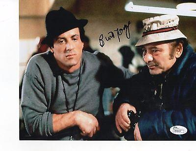 Burt Young Rocky Authentic Signed 8X10 Photo Autographed JSA COA