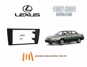 NEW Fits 1997-2001 LEXUS ES300 SERIES Car Stereo Double DIN Dash Kit, Tool Set