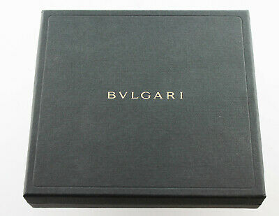 Bvlgari Bulgari Jewelry Chain Bracelet Necklace Watch Box Authentic