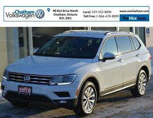 2018 Volkswagen Tiguan S App Connect Heated Seats Touch Screen