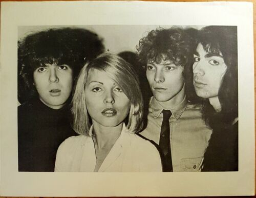 BLONDIE Early Promo Shot for 1st Demo Recordings Release - 8 1/2 x 11 EX COND