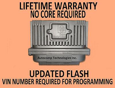 1996 BUICK LESABRE 3.8L ENGINE COMPUTER 16211539 VIN PROGRAMMED