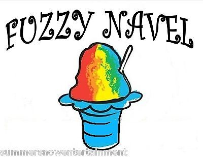 Fuzzy Navel Syrup Mix Shaved Ice Snow Cone Flavor Gallon Concentrate 1
