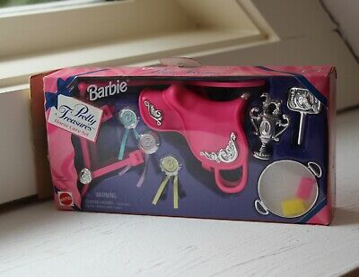 Barbie Pretty Treasures Horse Care Set NEW in Box 1996 Vintage Set
