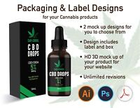 Label & packaging design for you Cannabis product