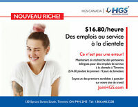 HGS Canada French Bilingual Customer Service Representative