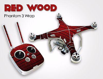 Drone Lamina Vinyl Wrap DJI Phantom 3 Professional/Advanced Quadcopter UAV