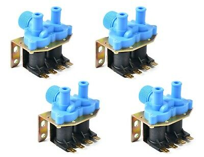4pk - 9379-183-001 - Great Quality Water Inlet Valve 2-way 110v Dexter Washers