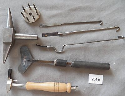 Watchmaker's, Hobbyists Assorted Tools for Repair Work, Lot 2