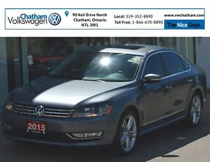 2015 Volkswagen Passat Navigation Heated Leather Seats Touch Screen
