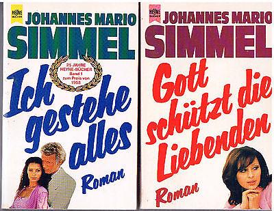 2 Taschenbücher v. Johannes Mario Simmell  (1) gebraucht kaufen  Brunsleberfeld