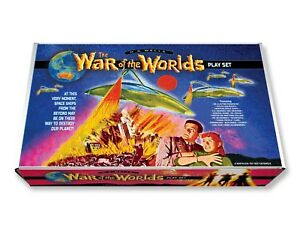 Marx War of the Worlds Play Set Box