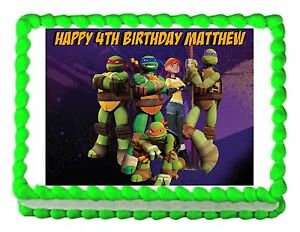 TMNT-Teenage-Mutant-Ninja-Turtles-party-edible-cake-sheet ...