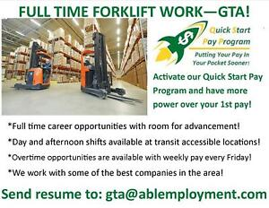 GET YOUR 1ST DAY'S PAY AFTER YOUR 2ND SHIFT!