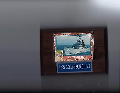 USS GOLDSBOROUGH PLAQUE DDG-20 NAVY US USA MILITARY GUIDED MISSILE DESTROYER NEW