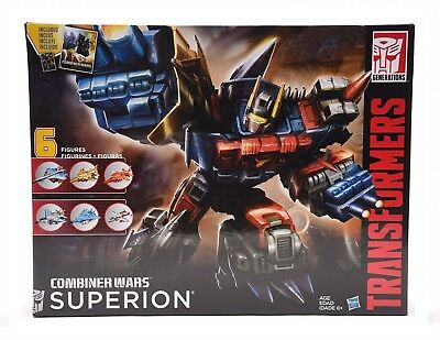 Transformers Generations Combiner Wars Superion Aerialbots Set Collection