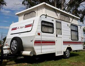 1995 JAYCO 15ft POPTOP CARAVAN, DOUBLE BED, FULL ANNEXE, finance Deception Bay Caboolture Area Preview