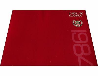 - 1984 Cadillac Eldorado and Convertible 16-page Car Sales Brochure Catalog