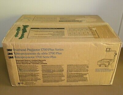 3m 1700 Plus Series 1730 1700ajp Overhead Projector New