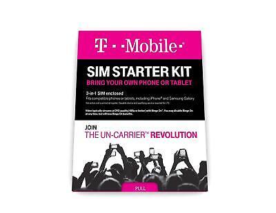 T-mobile - Complete Sim Starter Kit - White