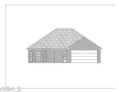 Custom Home House Plan 1 392 Sf Blueprint Plans
