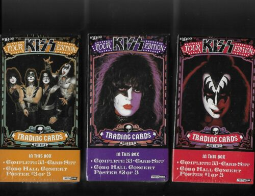 2009 press pass Kiss tour edition 3 box set factory sealed free shipping