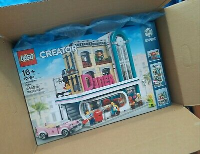 LEGO 10260 Downtown Diner (Creator Expert) ** Brand New & Sealed **