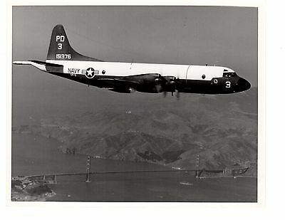 Orion Collection Bridge (Lockheed Orion P3 VP9 Navy Aircraft Photo 8x10 Golden Gate Bridge San)