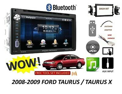 2008-2009 Ford Taurus / Taurus X Bluetooth touchscreen DVD USB CAR RADIO STEREO Ford Taurus Stereo