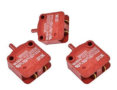 3pk - F340200 - Oem Door Switch - Speed Queen Unimac Huebsch Alliance Washers