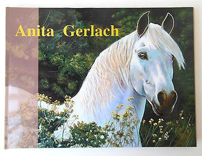 Signed w/Bless Anita Gerlach Artist by U.S. Arts Education Center Hardcover DJ  Education Center Arts