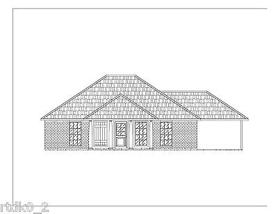 Custom Home House Plan 1 195 Sf Blueprint Plans
