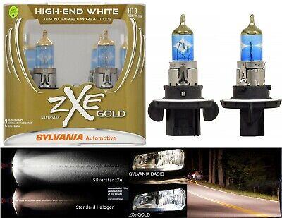 Sylvania Silverstar ZXE Gold 9008 H13 65/55W Two Bulbs Head Light Snowmobile