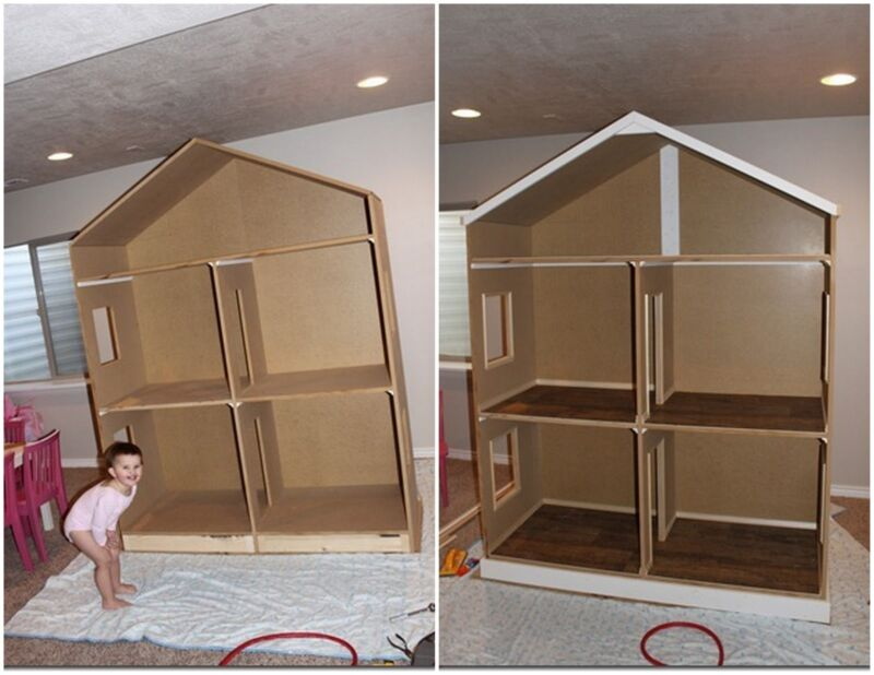 Image detail for best 18 inch dolls custom dollhouse for for Dollhouse building plans free