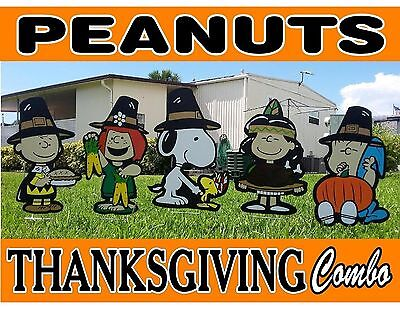 Outdoor Thanksgiving Decorations (Peanuts Snoopy Thanksgiving Combo Outdoor)