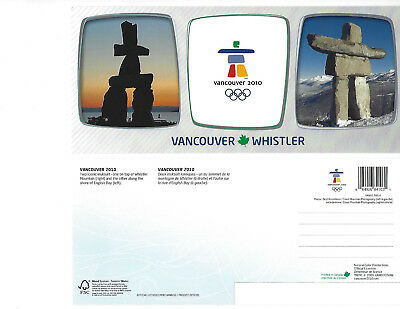 Used, CANADA OVER SIZED POSTCARD VANCOUVER CANADA WINTER OLYMPIC GAMES 2010 INUKSUIT'S for sale  Vancouver