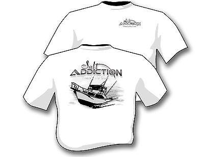 Salt Addiction Fishing t shirt,Saltwater shirt,Fishing boat,trolling,offshore Offshore Boat T-shirt