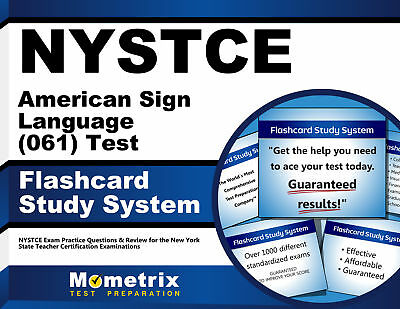 Nystce American Sign Language  061  Test Flashcard Study System