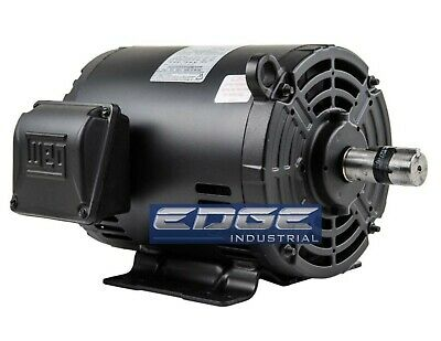7.5 Hp 184t 3 Phase Weg Electric Motor Air Compressor 3600 Rpm 208-230460