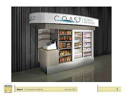 Brand New Custom Made Concessions Kiosk United States