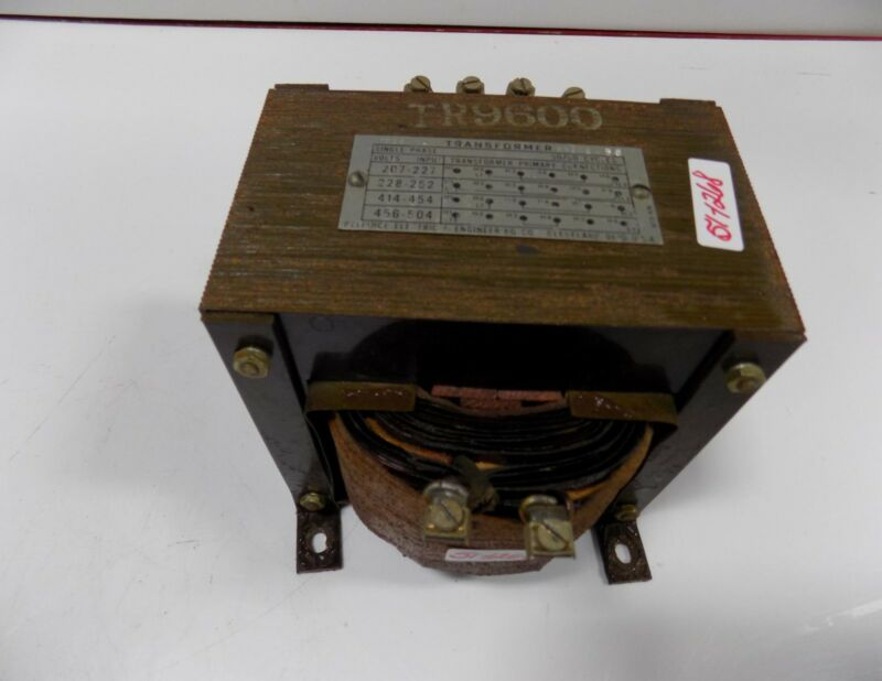 RELIANCE ELECTRIC TR9600 SINGLE PHASE TRANSFORMER  65248-6S