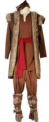 Kristoff-Viking-Ice Queen-Frozen MALE FANCY DRESS full costume SML-XXXXL - Kristoff Frozen Costume
