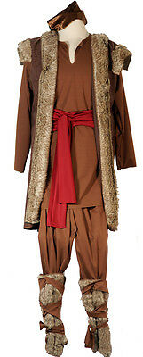 Kristoff-Viking-Frozen Queen-Fairytale Boys Fancy Dress Outfit ALL AGES