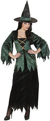 Grüne Moorhexe Kostüm NEU - Damen Karneval Fasching Verkleidung Kostüm