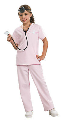 Children's Vet Costume (VETERINARIAN VET ANIMAL DOCTOR CHILD HALLOWEEN COSTUME GIRLS SIZE MEDIUM)