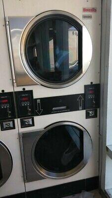 Cissellalliance White Stack Dryer Coin Op 30lb 115v Sn 0502003384 Refurb