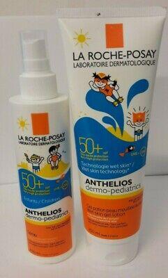 La Roche-Posay - Spray Y Gel para Niños - Protección Solar SPF...